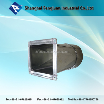 Square And Round Duct Galvanized For Hvac System