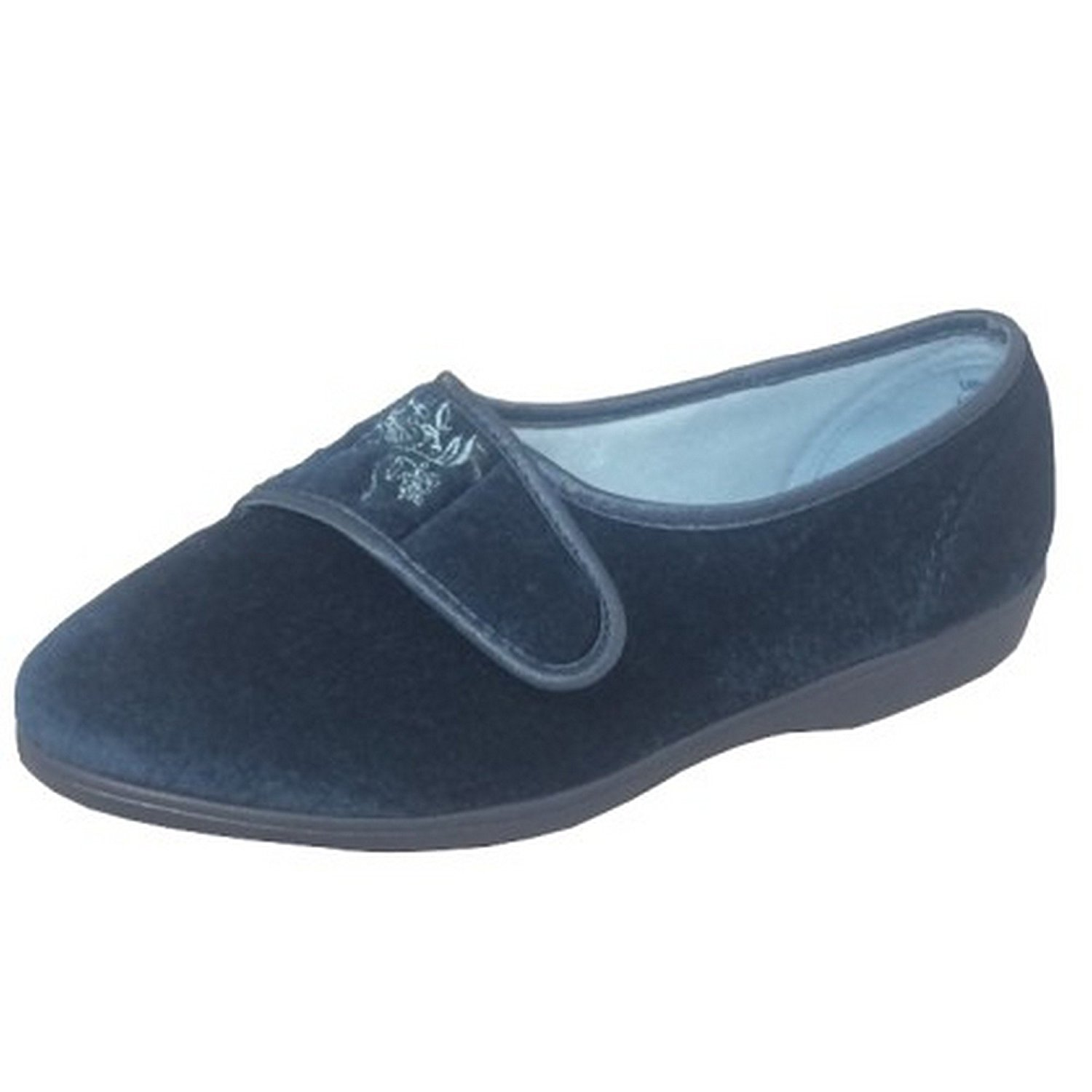 d74bbfd58933 Get Quotations · Sleepers Womens Ladies Maud Wide Fitting Slippers