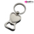 Custom Advertising Bar Metal Beer Bottle Opener, Bar Stainless Steel Multifunctional Bottle Opener Keychain