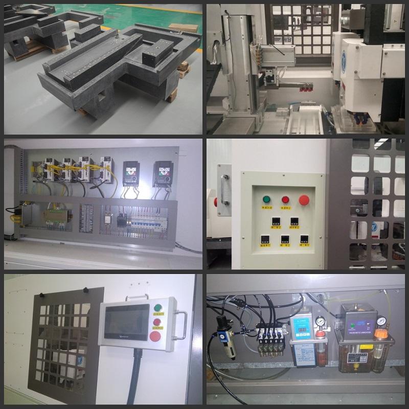 Máquina de fabricação de vidro temperado de celular ND820-2F-AT2 máquina de protetor de tela de vidro