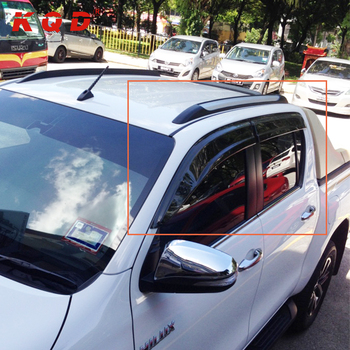 custom car sun visor window deflector wind deflector door rain deflector  for for hilux revo d933b2dc1f9
