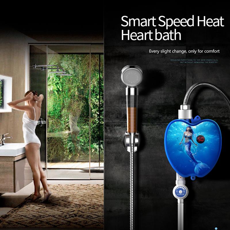 Precio barato, grifo eléctrico instantáneo para calentador de agua, grifo eléctrico instantáneo para agua caliente para cocina y baño