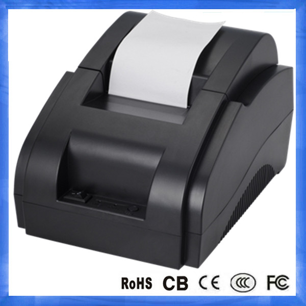 Restaurant Portable 58mm Thermal Receipt Printer with Paper Roll&Driver