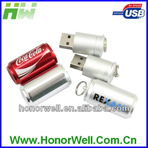 COLA BEER CAN SHAPED USB DRIVE