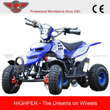 New design four wheelers gas powered 50cc atv for cheap for Motorized 4 wheeler for toddlers