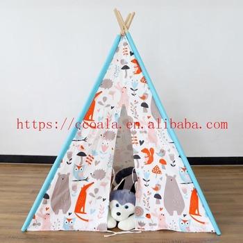 8a39a237 Algodón Indio Niños Tipi Dormir 1 Persona Teepee Para Niños - Buy ...