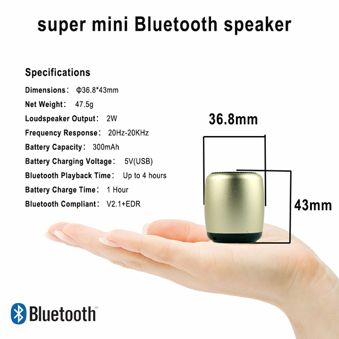 2018 Fast Delivery Portable Fq Mini Digital Speaker