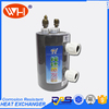 China Direct Factory shell tube oil cooler, condenser r410a, water cooler stainless steel