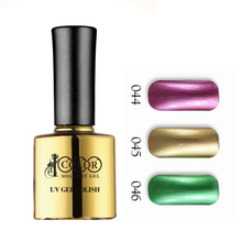 12pcs Color 1000 Hot Sale Soak Off UV LED Metallic nail gel polish Mirror Nail Polish