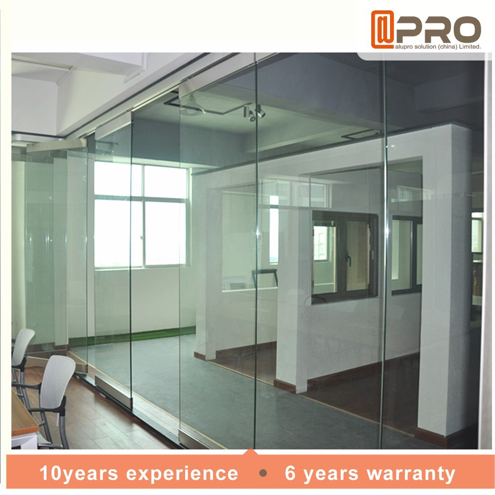 Chinese Doors Glass Door Thickness For Rooms Or Hotel Use Partition Wall On