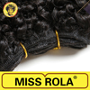 "wholesale price Miss Rola hair extensions, 6""7""8"" 3pcs/pack human hair, top quality kinky curl sew in hair weave"