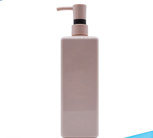 Hot Sale 300ml 400Ml 500ml 700ML Hdpe plastic bottle home care package shampoo bottle