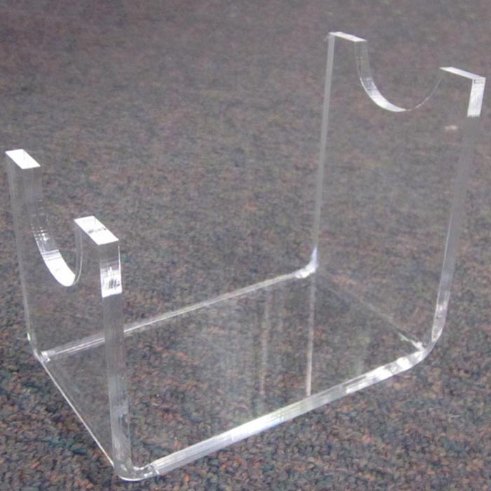 Countertop High Quality Clear Acrylic Perspex Gun Knife Stand Holder