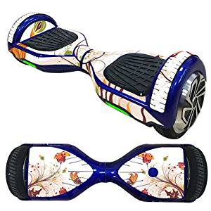OYW Scooter Hoverboard Skin Sticker,Protective Vinyl Skin Decal Cover Wrap for 6.5 inches Two Wheel Hoverboard Self Balancing Scooter