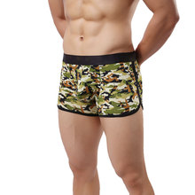 Homme grande Taille Respirant Boxer camouflage hommes <span class=keywords><strong>sous</strong></span>-vêtements