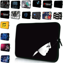 Free Shipping Neoprene Zipper Soft 7 10 12 13 15 17 17.3″ Computer Accessories Laptop Sleeve Zipper Cover Pouch Bag Soft Cases