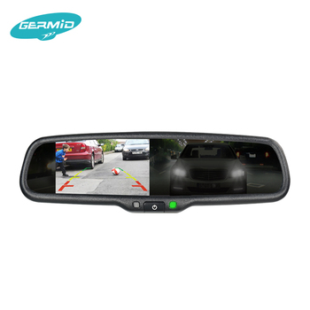 Auto Dimming Rear View Mirror With Buick Lcd Monitor And Compass For