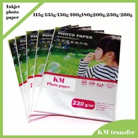 Professional inkjet glossy/matte cast coated/RC wholesale photo paper