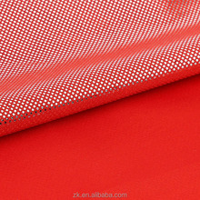 Soft Smooth Hand 100%Poly Half Silver Coating Printed Satin Textile Fabric For Garments Sportswear