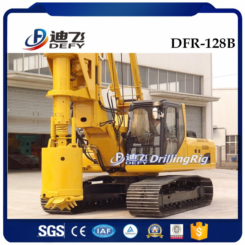 Small DFR-128A Hydraulic used bore pile driving drilling machine for sale,  View bore pile drilling machine, DEFY Product Details from Zhengzhou Defy