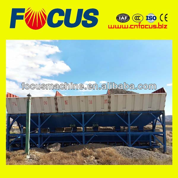 FOCUS MACHINERY Concrete Batcher with 2400L weighing volume