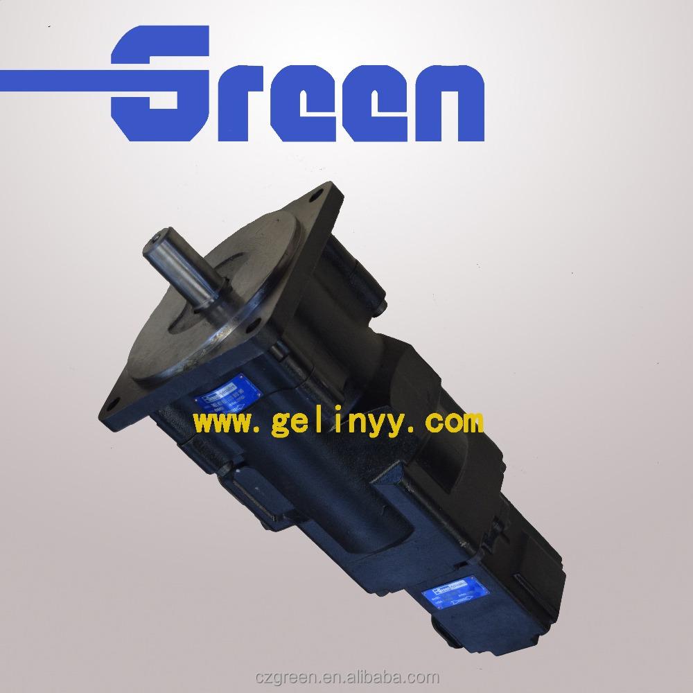 Special pump parker Denison T6EE+T6C hydraulic vane pump for crane