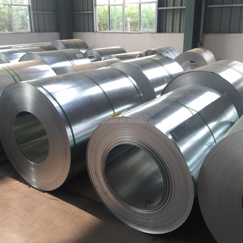 Hot dipped Full hard zinc coated coil galvanized steel for roof