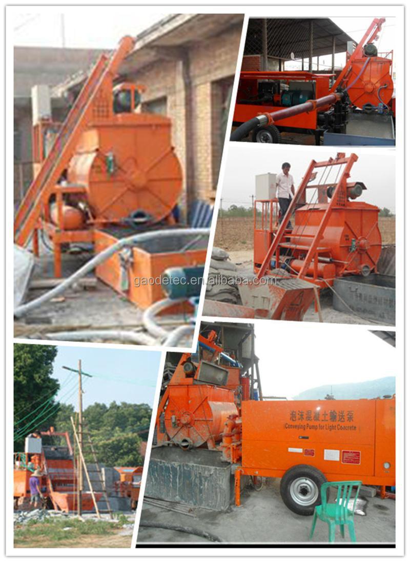 Excellent Machinery Clc Foam Concrete Hollow Block Machine