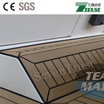 2018 Seven Trust Synthetic Teak Decking For Boats/yacht,Waterproof Marine  Decking - Buy Boat Deck Mats,Outdoor Play Mats,Best Outdoor Mat Product on