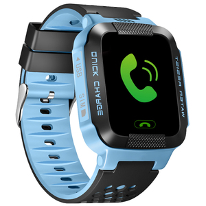 Children smart watch touch screen child gps tracker bdc wifi lbs sos mobile phone child watch