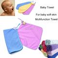 3 Pcs Lot Baby Towel Microfiber Fabric 30 30 Can Wash Face Wipe Saliva Multifunction Towel