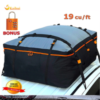 19 Cubic Feet Heavy Duty Car Roof Bag with100% Waterproof Excellent Military Quality