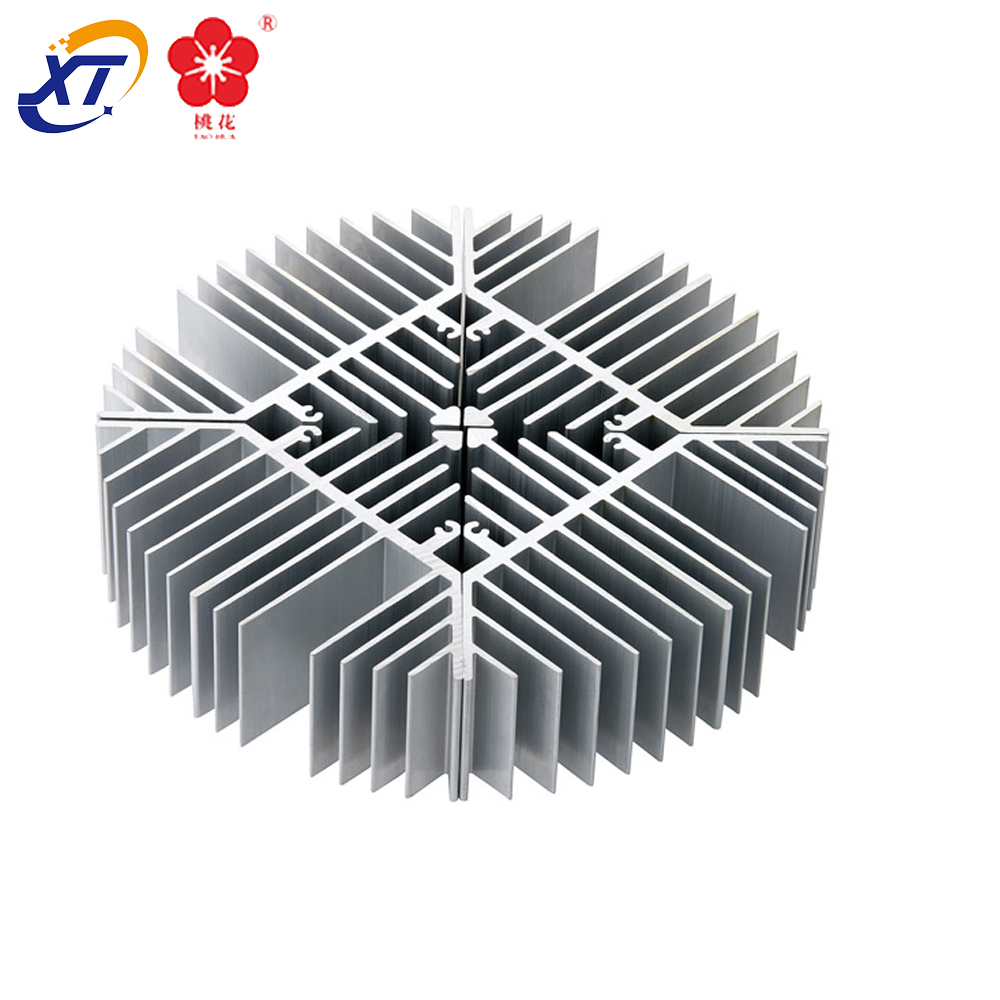 professional design hot selling extruded aluminum alloy metal heatsink with factory price