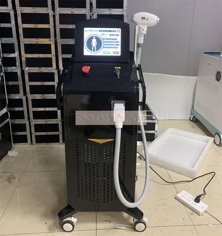 Triple wavelength 755 808 1064 laser 755nm hair removal equipment/ laser hair removal machine 808nm diode