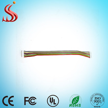 Automotive wire harness cable 10 pin flat ribble cable wire harness 2x5 IDC ribbon cable for computer