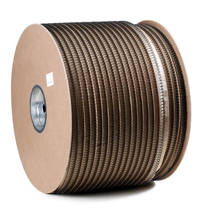 Nylon Caoted Wire Book Binding Double Loop Wire O Spool Twin Ring 3:1