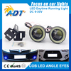 2016 Hot sale Car White Angel Eye LED COB waterproof led ring light