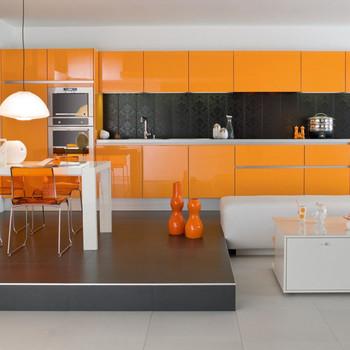 Cucina Moderna Arancione.Simple Design Moderno Laccato Lucido Finitura Arancione Mobili Da Cucina Buy Arancione Mobili Da Cucina Alta Lucida Mobili Da Cucina Armadio Da