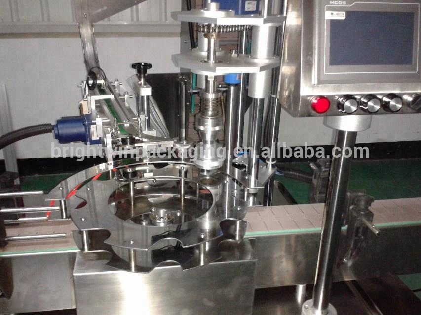 Burro di arachidi di riempimento automatico della macchina di coperchiamento