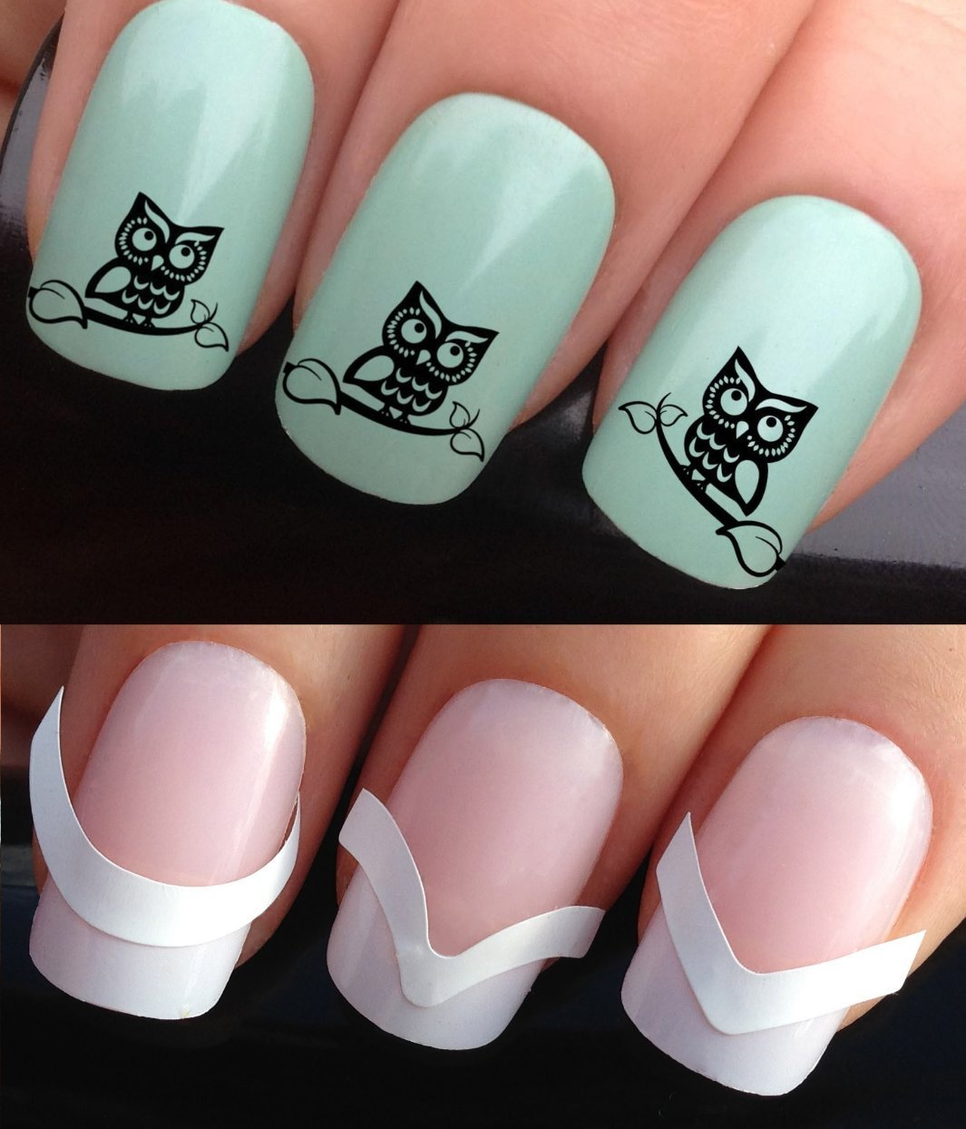 Get Quotations Nail Decals Water Transfers Stickers Tattoo Art Set 313 172 Plus