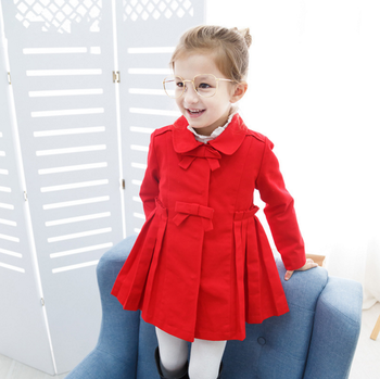 e58fc8ed5 Dl20116f 2017 Korean Fancy Baby Girl Wholesale Windbreaker Jackets ...