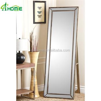 Voorkeur Decoratieve Grote Spiegel/staande Vloer Spiegel/up Spiegel Maken #RB66
