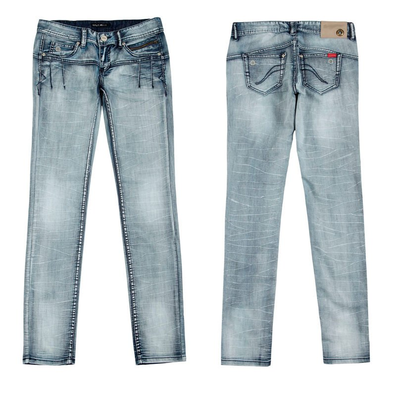 Stretch fashion women jeans in dubai DS120098