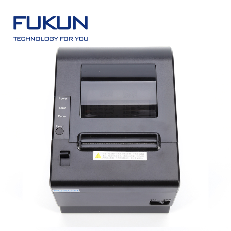 Computer Laptop 3 Inch Thermal Printer QR Code Bill Printer for Grocery