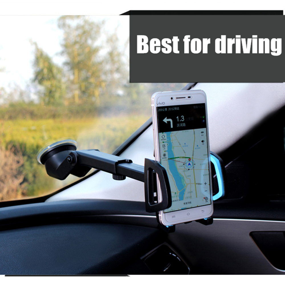 Auto cup holder cell phone holder mount windshield dashboard