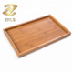 Bamboo Serving Tray - Gongfu Style Tea TableTop - Wooden Breakfast Serving Plate