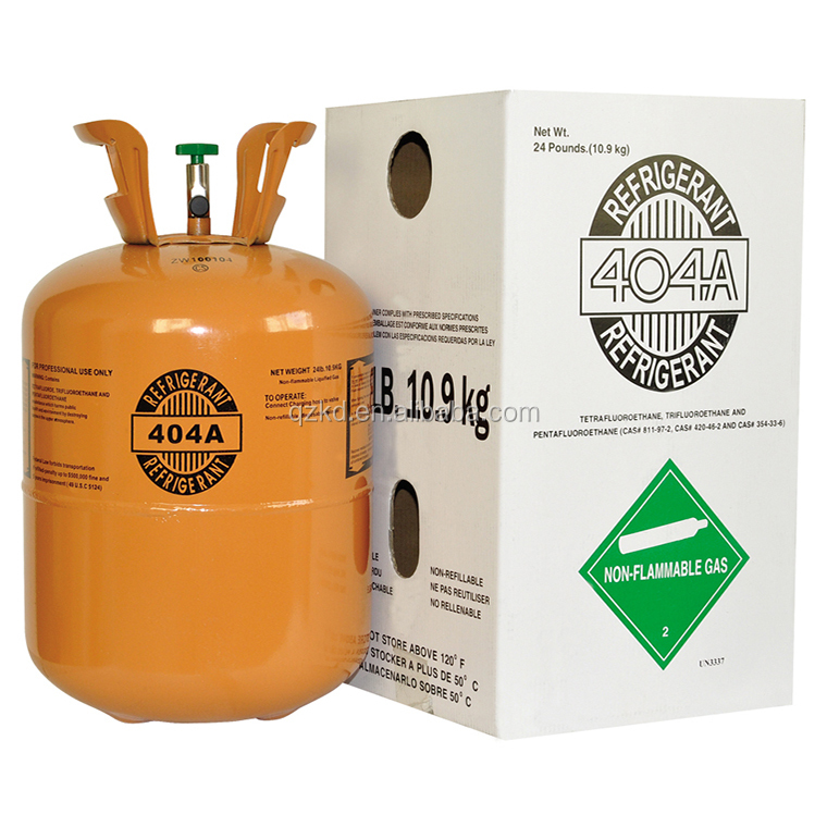 2017 year Best quality low price refrigerant GasR404a(99.9% purity)