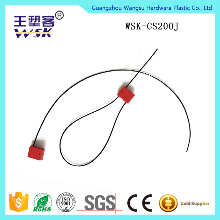 Steel wire with ABS Stainless Steel Cable Seal for Airline Sea Shipping