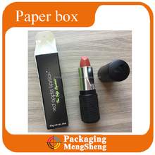 Red lipstick packaging paper boxes, small paper packaging boxes for lipstick, paper packaging boxes for cosmetic