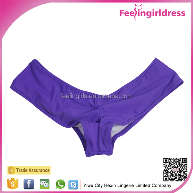 Violet Colored Ladies Sexy Brief Fashinable Hot Bottoms Women Underwear